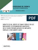 Periodoncia Exposicion de Articulo (1)