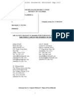 Mike Flynn - Motion to Dismiss