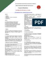 IT 01 - Procedimentos Administrativos