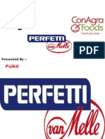 Marketing Mgmt..Perfetti,Conagra,Cargill Foods