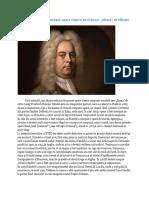 POvestea operei Mesia de Handel