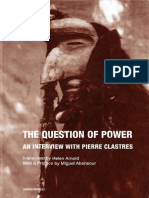 Abensour, Miguel_ Clastres, Pierre - The Question of Power_ An Interview with Pierre Clastres-Semiotext(e) (2016).pdf