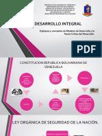 DESARROLLO INTEGRAL