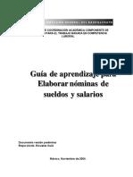 manual de elaboracion percepciones y deducciones nivel bachillerato
