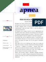 Psicologia E Apnea