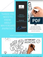 Things You Need to Know About Whiteboard Animation