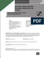 Artículo La gerencia bim como sistema de gestión para proyectos de construcción (1).pdf
