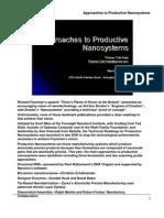 Productive Nano Systems DARPA V4