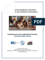 2020 CPS kindergarten readiness study