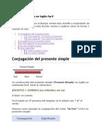 El Presente Simple en Inglés facil.docx