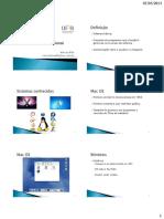 PDF - Sistema operacional