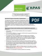 2020 APAS Carbon Costing Estimates
