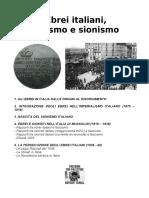 Ebrei Italiani, Fascismo e Sionismo