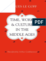 J. Goff_Time, Work & Culture in the Middle Ages
