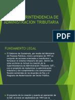 SUPERINTENDENCIA DE ADMINISTRACION TRIBUTARIA