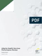 Alberta Health Sciences Performance Review