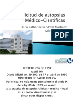 Solicitud de autopsias Medico-Científicas