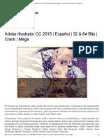 Adobe Illustrator CC 2015 _ Español _ 32 & 64 Bits _ Crack _ Mega _ Recursos Gráficos