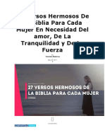 27 Versos Hermosos De La Biblia Para Cada Mujer En Necesidad Del amor.docx
