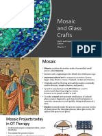 Craft and Creative Media Mosaic Power Point Chap 7