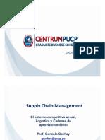 Sesiones 1-2 El entorno competitivo actual, Logística y Cadenas de aprovisionamiento