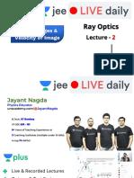 [L2] Ray Optics _ Reflection 31st Aug