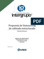 Propuesta de Outsourcing de Cableado Estructurado