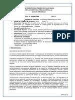 GUIA   5  RECONOCER REALIZAR 2019-2020