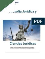 Unidad 1. Recurso 2. Lectura. Filosofía Jurídica y Ciencias JurídicasCod