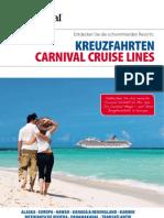 Kreuzfahrten von Carnival Cruise Lines - Deutschland - auf einen Blick - SAISON 2011/2012