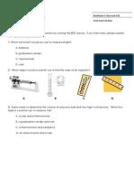 Nonfiction 5 Intro Task&Rubric Classwork