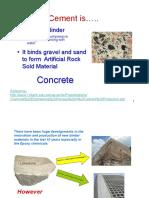 Cement Chemistry L1