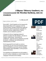 Financement Libyen