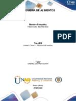 Unidad 2 Tarea 2 - Dibujo en CAD analítico
