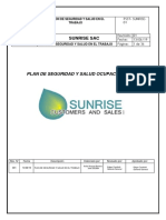 PLAN DE SEGURIDAD DE SUNRISE SAC- VERSION 1