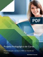 Plano Pedagógico - MBA Gestão de Projetos