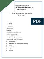 Proyecto Procesos de Manufactura