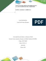 Tarea 2 - Realizar análisis crítico de problemática asociada al uso inapropiado del territorio