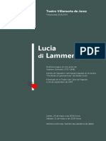 Lucia de Lammermoor, Jerez