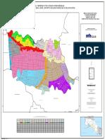 Mapa de valor de terrenos en Distrito 06 San Francisco de dos rios