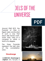 Models of the Universe