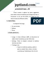 Essai Analyse Granulométrique AG