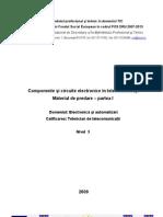 Componente Si Circuite Electronice in Telecomunicatii