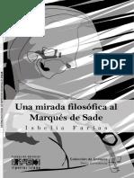 Una Mirada Filosófica al Marqués de Sade de Isabelia Farias.pdf