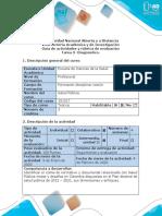 Guía de actividades y rúbrica de evaluación - Tarea 3 - Diagnóstico.docx