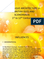 Romanesque Achitecture in The British Isles and Scandinavia.pptx