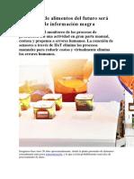 La planta de alimentos del futuro será un equipo de información magra.docx