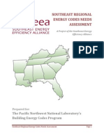 Southeast Regional Energy Codes Needs Assesment