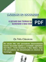 clssicosdasociologia-weber e durkheim