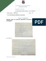 Tarea 1 Unidad 2 - Matemáticas